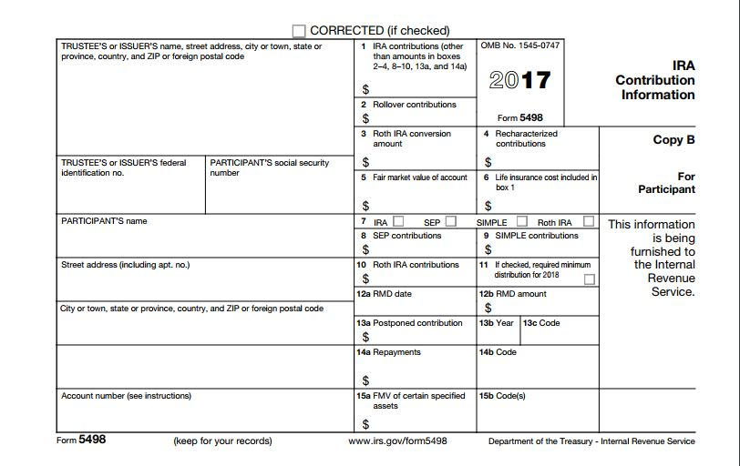 American EquityS Tax Form  For Ira Contribution